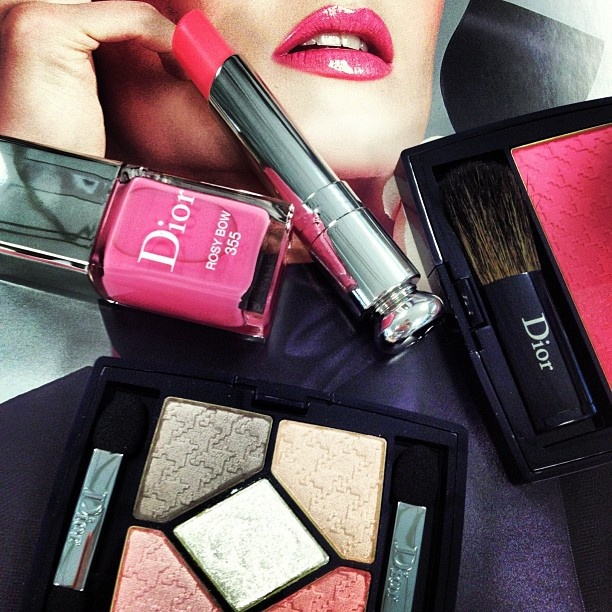 #Dior #beauty goodies that just landed on my desk - Spring 2013 collection