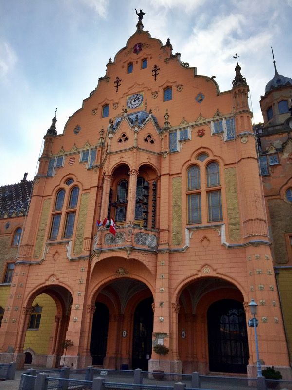 Town Hall. Kecskemét, Hungary. Photo by Megan K. Lethbridge.