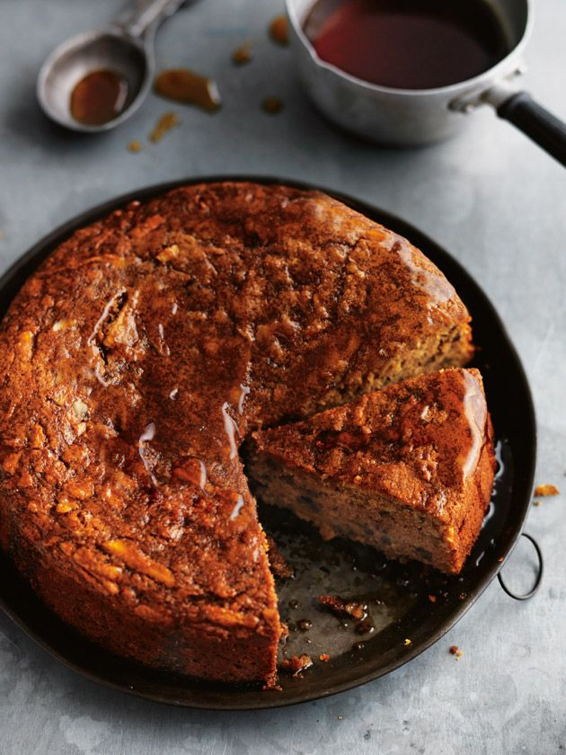 Apple And Pecan Cake With Hot Maple Butter | Donna Hay
