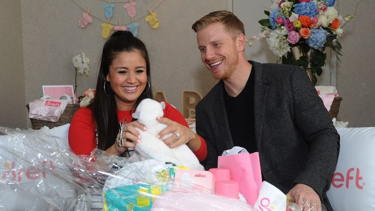 """""""Bachelor"""" Nation, brace yourselves — the next generation is growing! Sean Lowe and Catherine Giudici Lowe, whose love story played out on """"The Bachelor"""" season 17, welcomed their first child on Saturday: a son, Samuel Thomas Lowe."""
