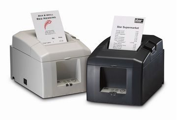 """THE TSP654II boasts a lightning fast print speed of 60RPM (receipts per minute). (300mm/second). The #TSP654II also features an improved Guillotine Cutter (2 million cuts), easy """"drop in and print"""" paper loading and a small footprint."""
