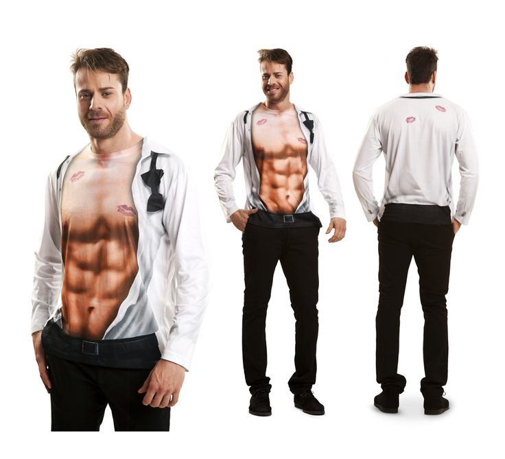 #Camiseta #Disfraz de Chico #Sexy para el #DíadelPadre. #fathersday #costume #gift #regalo #gym
