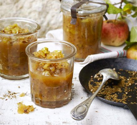 Spice a garden glut of fruit with coriander, cumin and mustard seeds for this pickle that's perfect for hampers