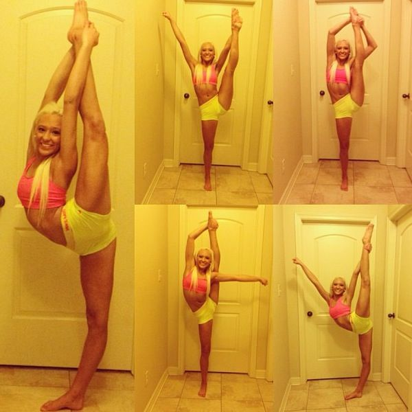 there is no me WISHING to become this flexible. I WILL be this flexible, just gotta get working, and ill get there(: