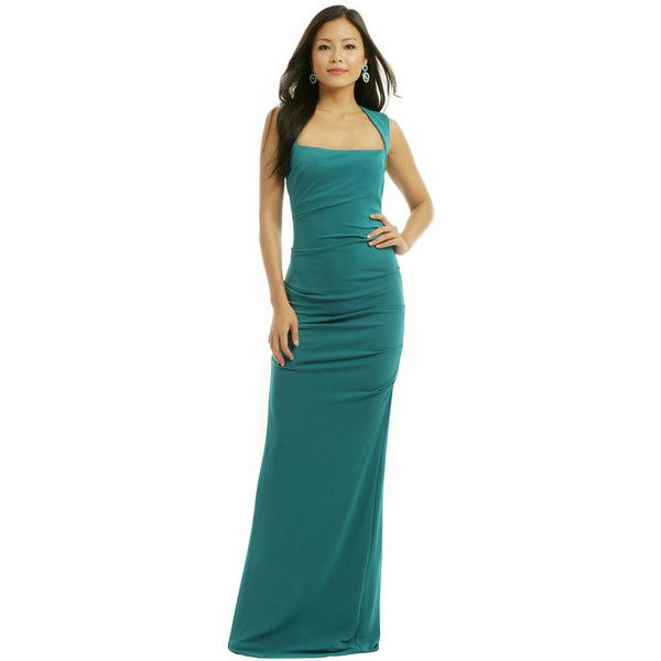 v neck style dresses you can rent