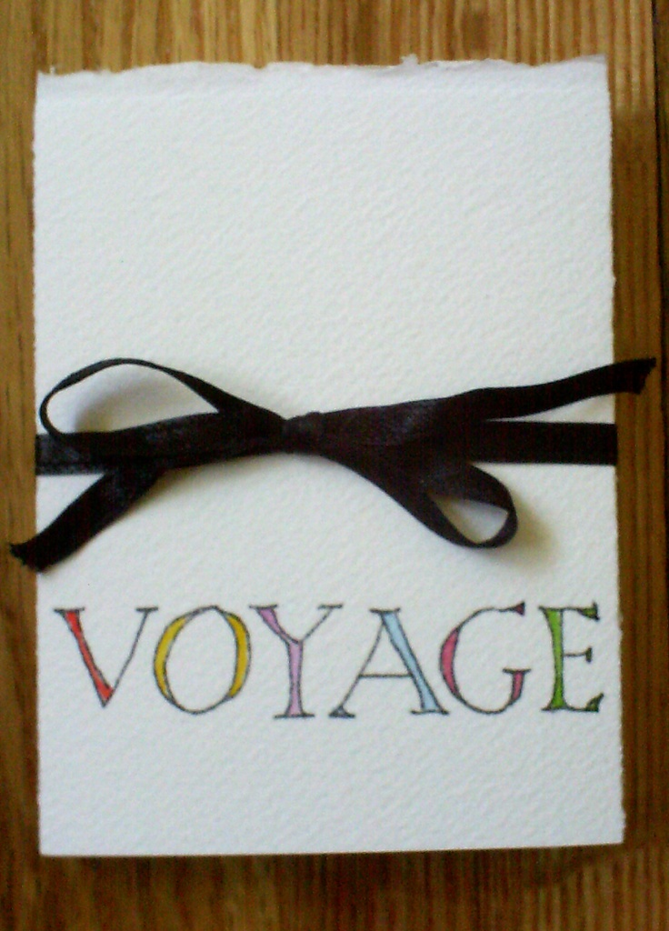 Marina Bancroft (Canada)  Voyage  Marina Bancroft is a mixed media artist based on the island of Montreal, Quebec, Canada.     For the last few years she has been experimenting with the book format. This book is based on the city maps of Sunderland and provided an opportunity to take a voyage of discovery. By using a travel watercolour kit and slowing down, the imaginary trip along the River Wear to the sea became a joyful experience.
