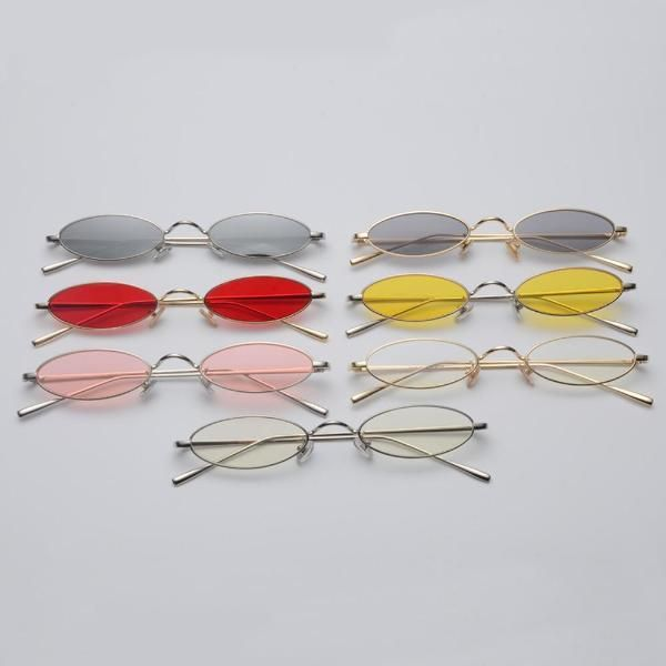New Optical Glasses Round Spring Legs Frames Metal Vintage Decorative Spectacles