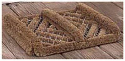 Bacova Guild 06301 Boot  Shoe Cleaner Doormat 12x14In  Quantity 10 * See this great product.