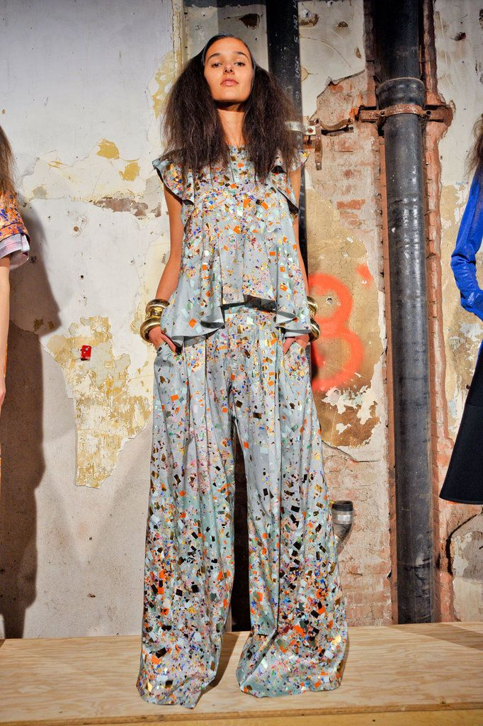 Cynthia Rowley Spring 2013 - Dislike the obnoxiously overside look and the prints