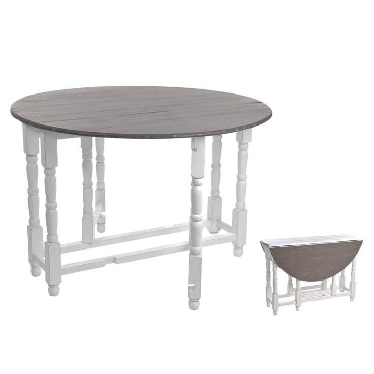Table ronde de salle à manger pliante Valient