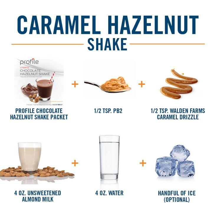Seems like the perfect day for a Profile Caramel Hazelnut Shake.