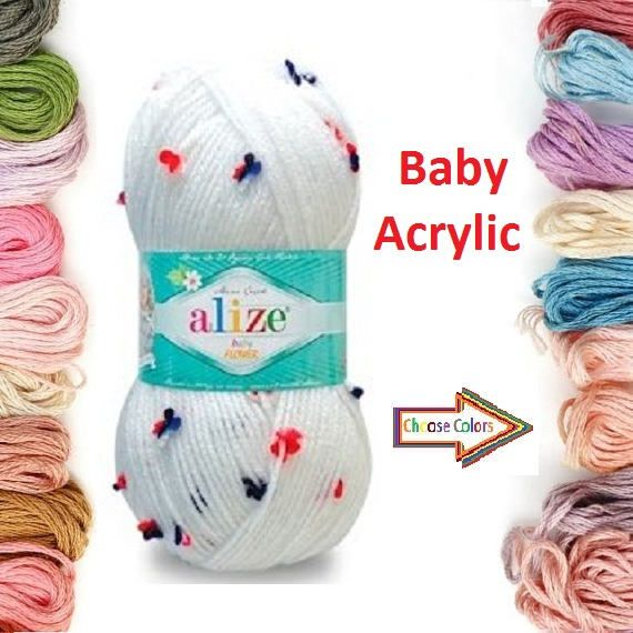 Check out this item in my Etsy shop https://www.etsy.com/listing/509321434/alize-baby-flower-knitted-yarn-baby-yarn