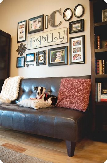 Best 25+ Hanging Family Pictures Ideas On Pinterest | Displaying Family  Pictures, Shelves Around Tv And Family Pictures On Wall Part 47