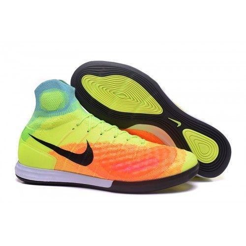 Nike Magistax Proximo Ii Ic Fussballschuhe Gelb Orange