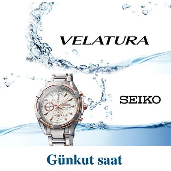 Seiko Velatura ile Zamanın Detaylarını Keşfedin!  Ürünümüzü incelemek için;  http://www.gunkutsaat.com/pinfo.asp?pid=45797