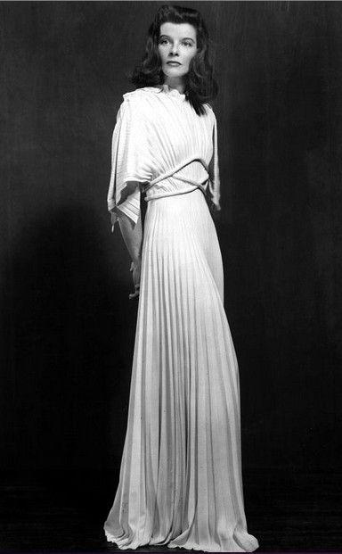 Katharine Hepburn- The Philadelphia Story, 1940.