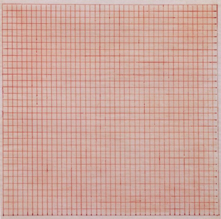 Agnes Martin - Untitled. 1963