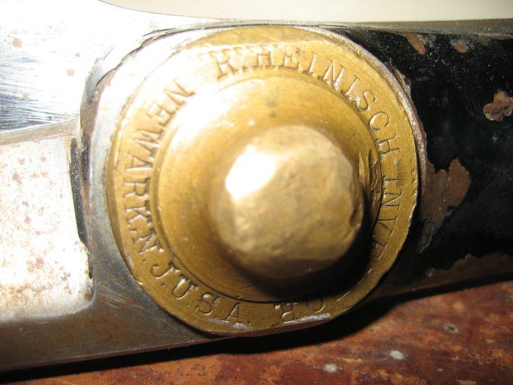 R.Heinisch, brass scissor pivot