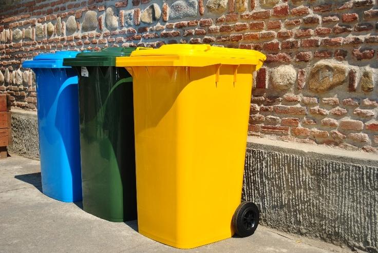 Abfalltonne Mülltonne Müllbehalter 120L und 240L.