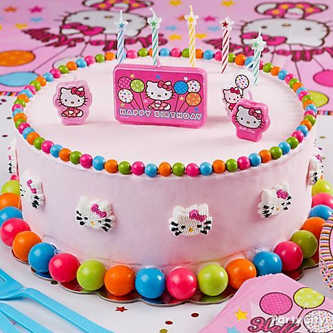 Hello Kitty Icing Cake Design : 173 best images about Hello Kitty Birthday Party Ideas on ...