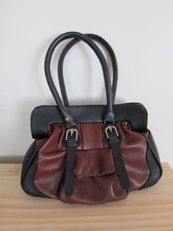 Handcrafted Leather Handbag   http://whiterhino.felt.co.nz