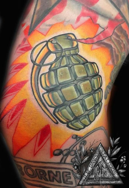 traditional grenadetattoo designs | Tattoos > Ohio > Page 2 > Grenade Tattoo