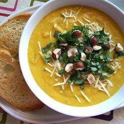 We can't wait to make this delicious, slightly spicy soup every summer when zucchini and squash are plentiful in our garden. We like to serve this soup with warm tortillas.