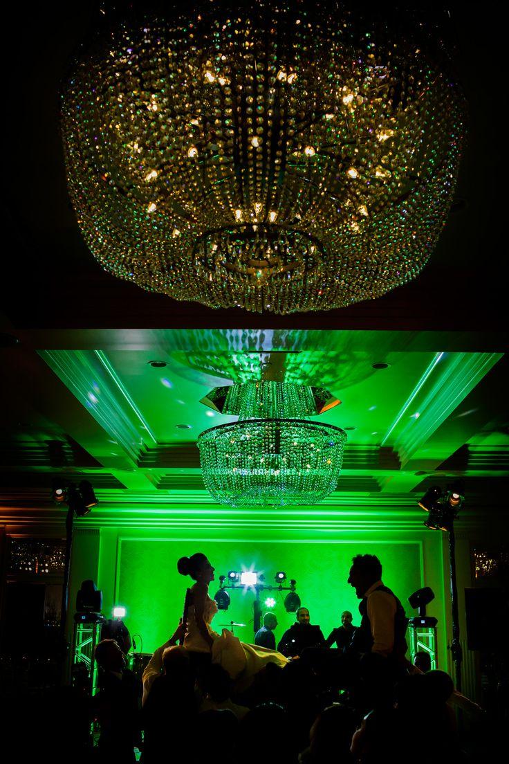 Chair dance Fairmont Santa Monica wedding