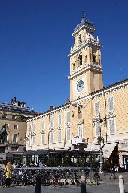Piazza Giuseppe Garibaldi, Parma, Italy