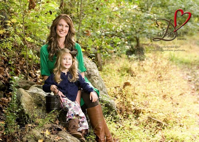 Outdoor Mother & Daughter Portrait by Darrah Photo
