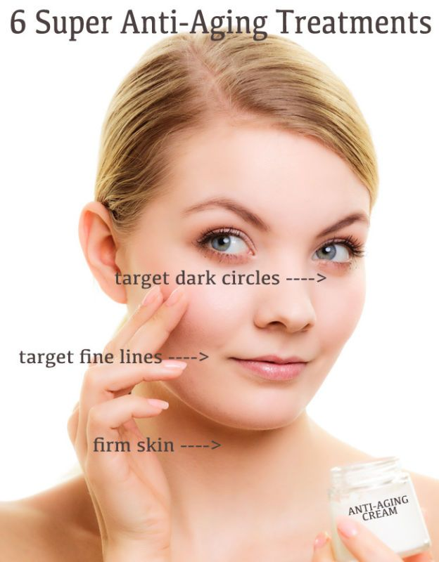 Super Anti Aging Treatments Makeup Skin