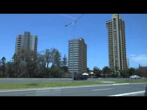 Riding on the G: link tram on the Gold Coast in 4K