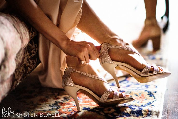 Thetis Island Overbury Resort Wedding. Silver sparkly bridal shoes.