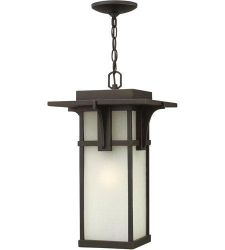 Hinkley 2232OZ-LED Manhattan LED 11 inch Oil Rubbed Bronze Outdoor Hanging Lantern