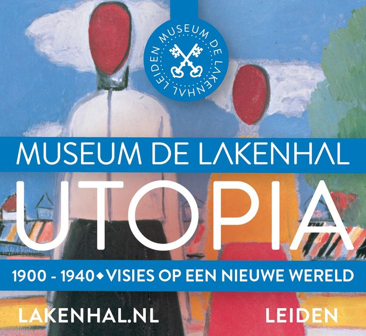 Campagnebeeld | Campaign image:  Kazimir Malevich, Twee figuren in een landschap (Two Figures in a Landscape) 1931-32  MERZBACHER KUNSTSTIFTUNG http://lakenhal.nl/utopia