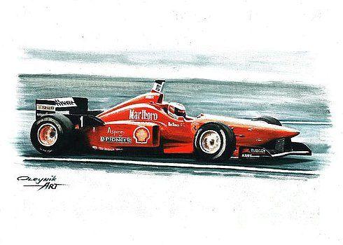 1996  Ferrari F310 by Artem Oleynik