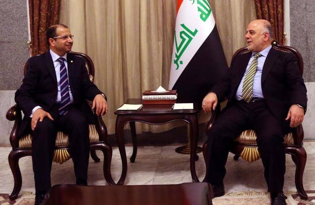 رئيس مجلس الوزراء الدكتور حيدر العبادي يستقبل رئيس مجلس النواب الدكتور سليم الجبوري Talk Show Scenes Shows