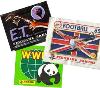 Panini stickers. Been collecting them since I was 4. Never really stopped :-)