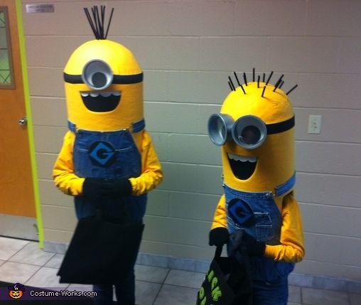 Minions - Halloween Costume Contest via @costume_works