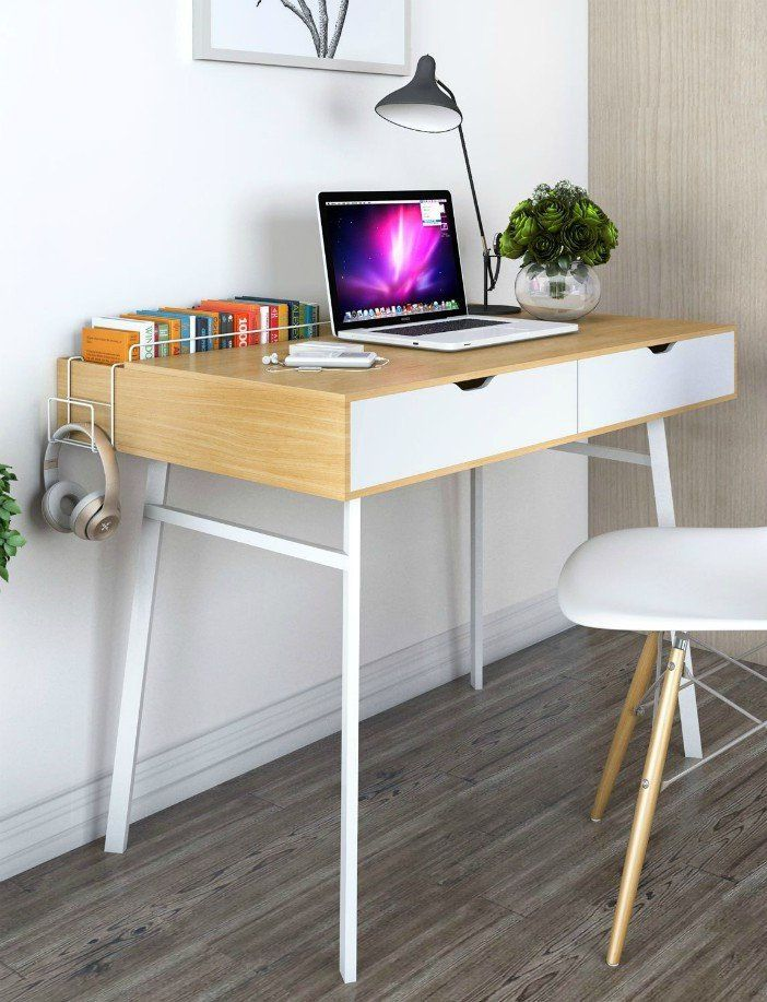 Ten Trendy Desks With Built In Storage Study Table Designs Study Table Study Room Design