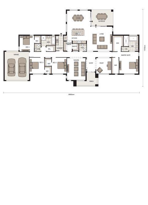 Plantation homes legend floor plan for Plantation homes floor plans
