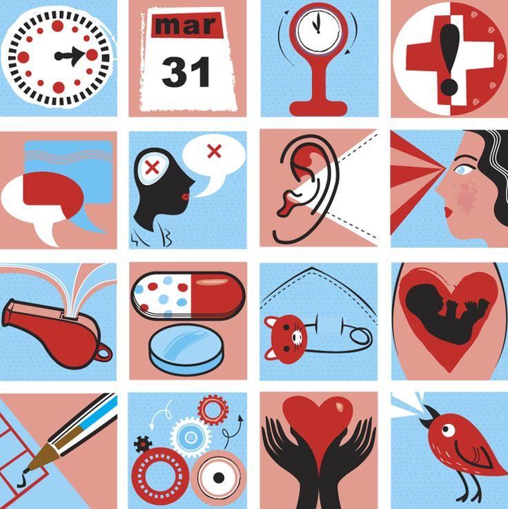 #joannakerr #newdivision #illustration #flatgraphic #line  #icons #medical
