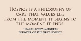 Hospice Quotes by @quotesgram