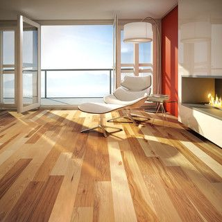 Looking for that perfect place to read a book and listen to the waves of the ocean? Take a look at our new special place. It features our new natural Hickory hardwood floor! It even comes standard with with Pure Genius, our air-purifying smart floor. #PureGenius #smartfloor #airpurifying #interiordesign #homedecor #Hardwoodflooring #ArtFromNature