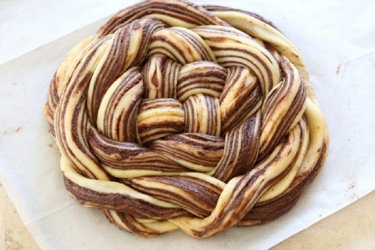 Cozonac Babka cu ciocolată- un desert fabulos cu gust intens de ciocolată! - Retete-Usoare.eu