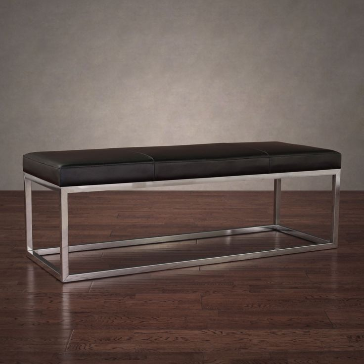 The 25 Best Leather Bench Ideas On Pinterest Leather