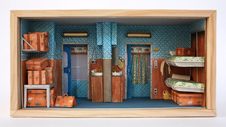 Mar Cerdà's Miniature Handmade Wes Anderson Sets image