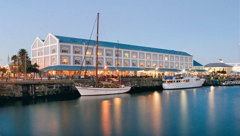 Victoria and Alfred Hotel at the Cape Town Waterfront.