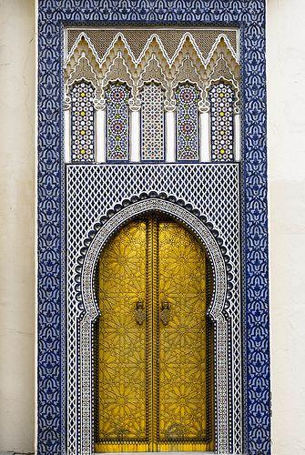Morocco, Islamic Architecture Door