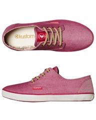kustom sangria and shoes on